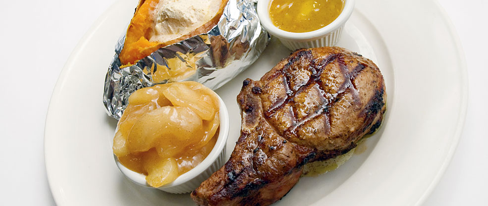 Grilled Pork Chops Fresh Seafood Steak House Restaurant Only The Best